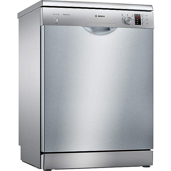 Bosch Serie 2 SMS25CI05E lavavajilla Independiente 13 cubiertos A++ - Lavavajillas (Independiente, Tamaño completo (60 cm), Acero inoxidable, Acero ...