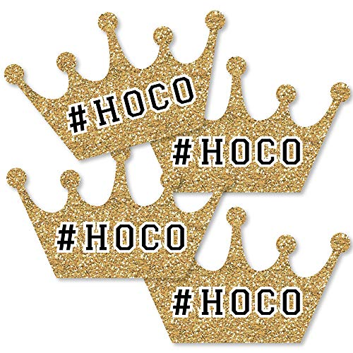 Homecoming Photo Ideas (Big Dot of Happiness Hoco Dance - Crown Decorations DIY Homecoming Essentials - Set of)