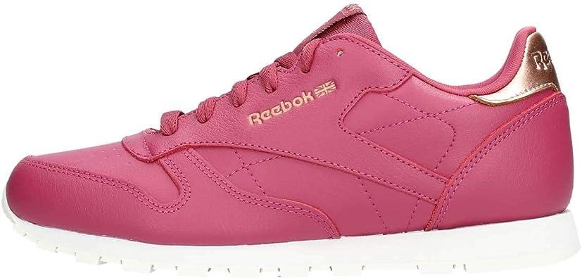 toxicidad Dramaturgo Domar  Reebok Classic Leather, Zapatillas de Deporte para Mujer: Amazon.es:  Zapatos y complementos