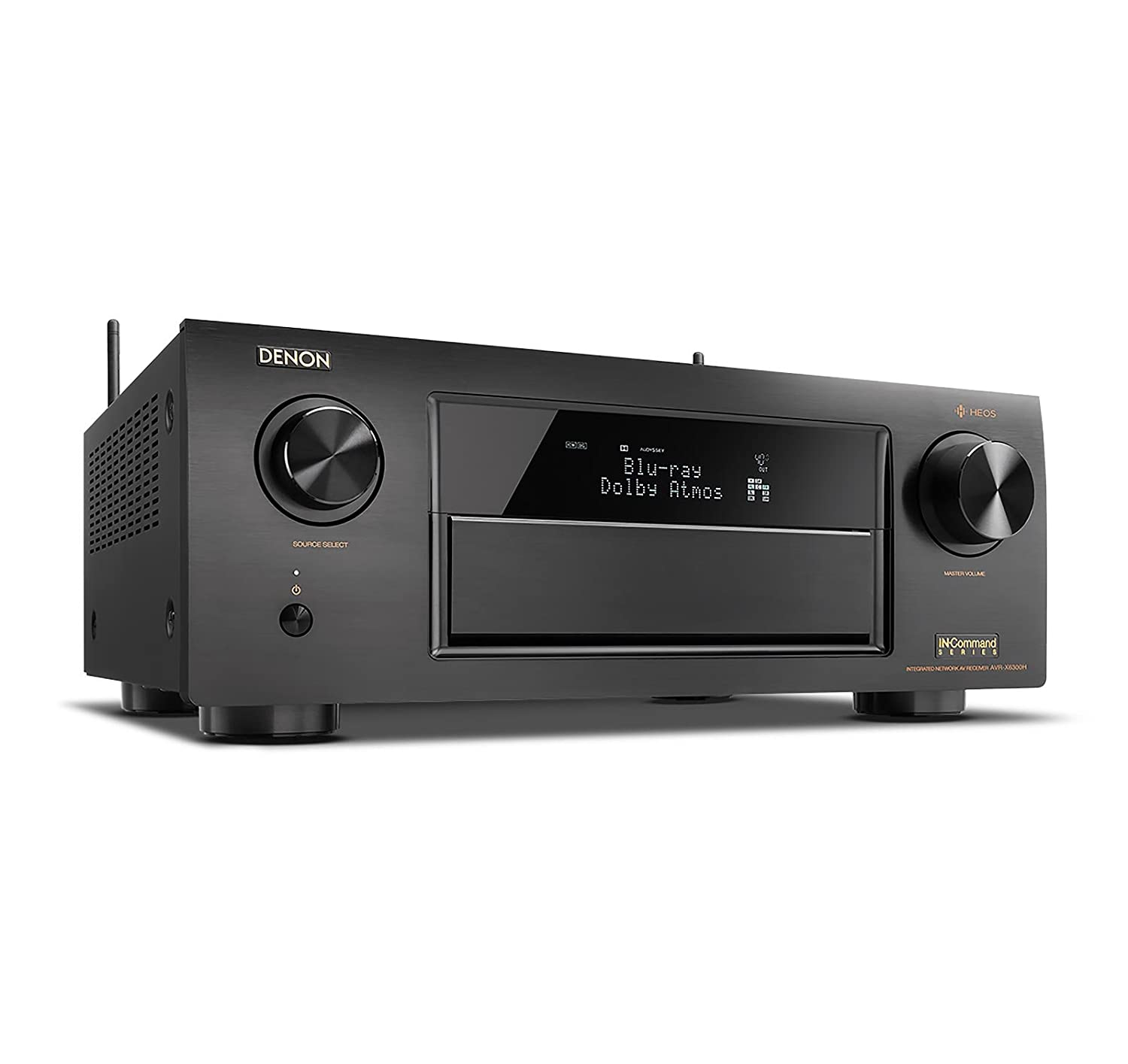 Amazon.com: Denon AVRX6300H 11.2 Channel Full 4K Ultra HD AV Receiver with  Built-in HEOS wireless technology featuring Bluetooth and Wi-Fi, ...