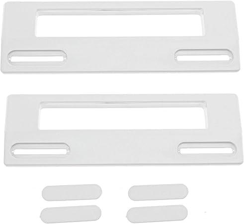 2 X Frigorifero Congelatore UNIVERSALE PORTA MANIGLIA BIANCA FRIGORIFERO regolabile 90-170mm