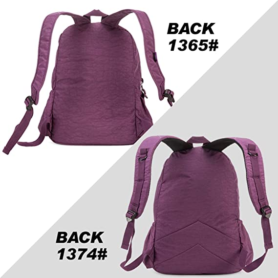 Amazon.com: School Gomfe Backpack for Teenage Girls Student Bag Feminina Women Back Pack Nylon Big Travel Laptop Bagpack: Computers & Accessories