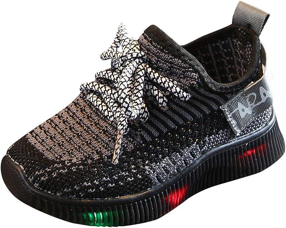 LED Unisex-niños Zapatillas de Running TWIFER Zapatos para Correr Niños Niñas Transpirable Zapatilla de Deporte de Moda Regalos para Niñas Niños Cumpleaños: Amazon.es: Zapatos y complementos