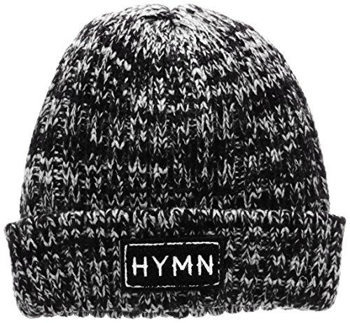 HYMN London Ryan, Gorra de Béisbol para Hombre Negro (Black/White)