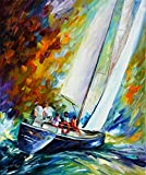West Wind is a Limited Edition print from the Edition of 400. The artwork is a hand-embellished, signed and numbered Giclee on Unstretched Canvas by Leonid Afremov. Embellishment on each of these pieces will be slightly different, but the image itsel...