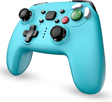EasySMX Mandos Bluetooth para Switch, [ 2020 Diseño Nuevo] Mandos Inalámbricos para Nintendo Switch, Gamepad para Switch con Función Gyro Axis/Dual Shock y Turbo Compatible con Nintendo Switch/Lite: Amazon.es: Electrónica