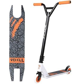 VOKUL TRII S2 Patinetes de Acrobacias Freestyle Pro Stunt Scooter Stuntscooter con Ruedas de 100 mm, hasta 64 kg para 8+ Adultos y niños