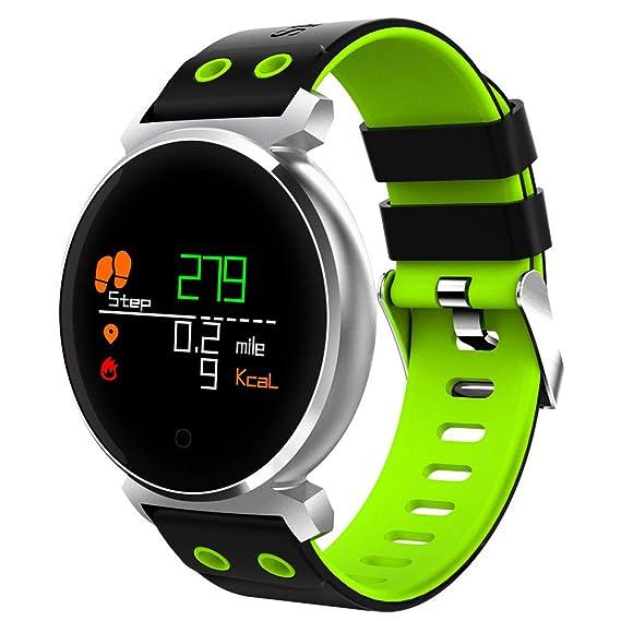 Amazon.com: Bluetooth 4.0 Smartwatch Sleep/Heart Rate ...