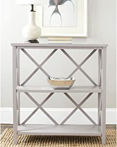 Safavieh American Homes Collection Liam Quartz Grey 2-Tier Open Bookcase