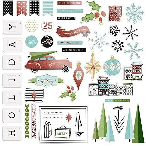 - Fancy Pants Holiday Hustle Paper Ephemera Embellishments