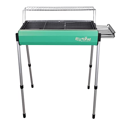 Lisli Multifunctional Outdoor Portable BBQ Grill,Folding Charcoal Grill,Height  Adjustable,Barbecue Stove