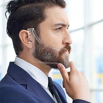 Amazon Com Amtok Beard Shaping Tool Template Beard Ruler Beard