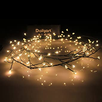 Micro Lichterkette, Dailyart® Antike 120er LED-Lichterkette Warm ...