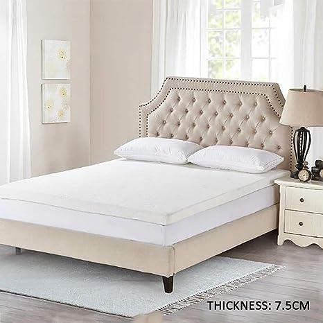 Látex Natural Primeros del colchón Cama,Plegable Suave Gruesa Dormir Futón Tatami Estera del Piso