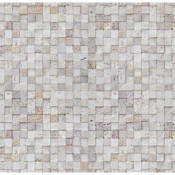 Magic-fix Peel & Stick Rustic Bread Brick and Stone