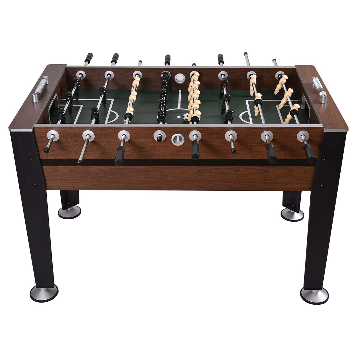 GYMAX 54'' Foosball Table Indoor Soccer Game Table for Adults Kids Room Sports Game