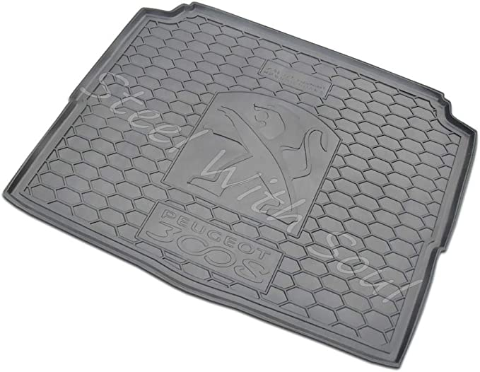 Peugeot 207 Estate Tailored Boot Mat Carpet //Rubber