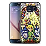 img - for ZELDA WIND for Samsung Galaxy S6 Edge Black case book / textbook / text book