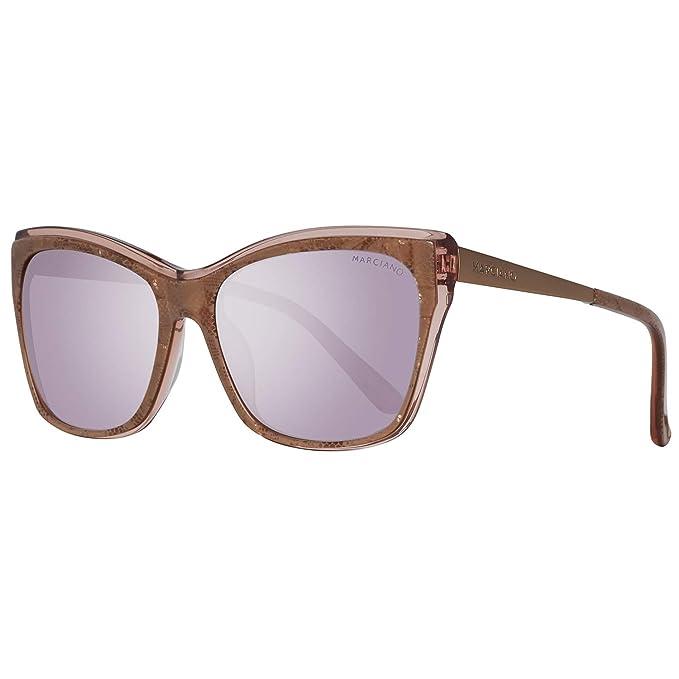 e46bd553ba Guess by Marciano Sonnenbrille Gm0739 74Z 57, Gafas de Sol para Mujer,  Marrón (Braun), 57.0: Amazon.es: Ropa y accesorios