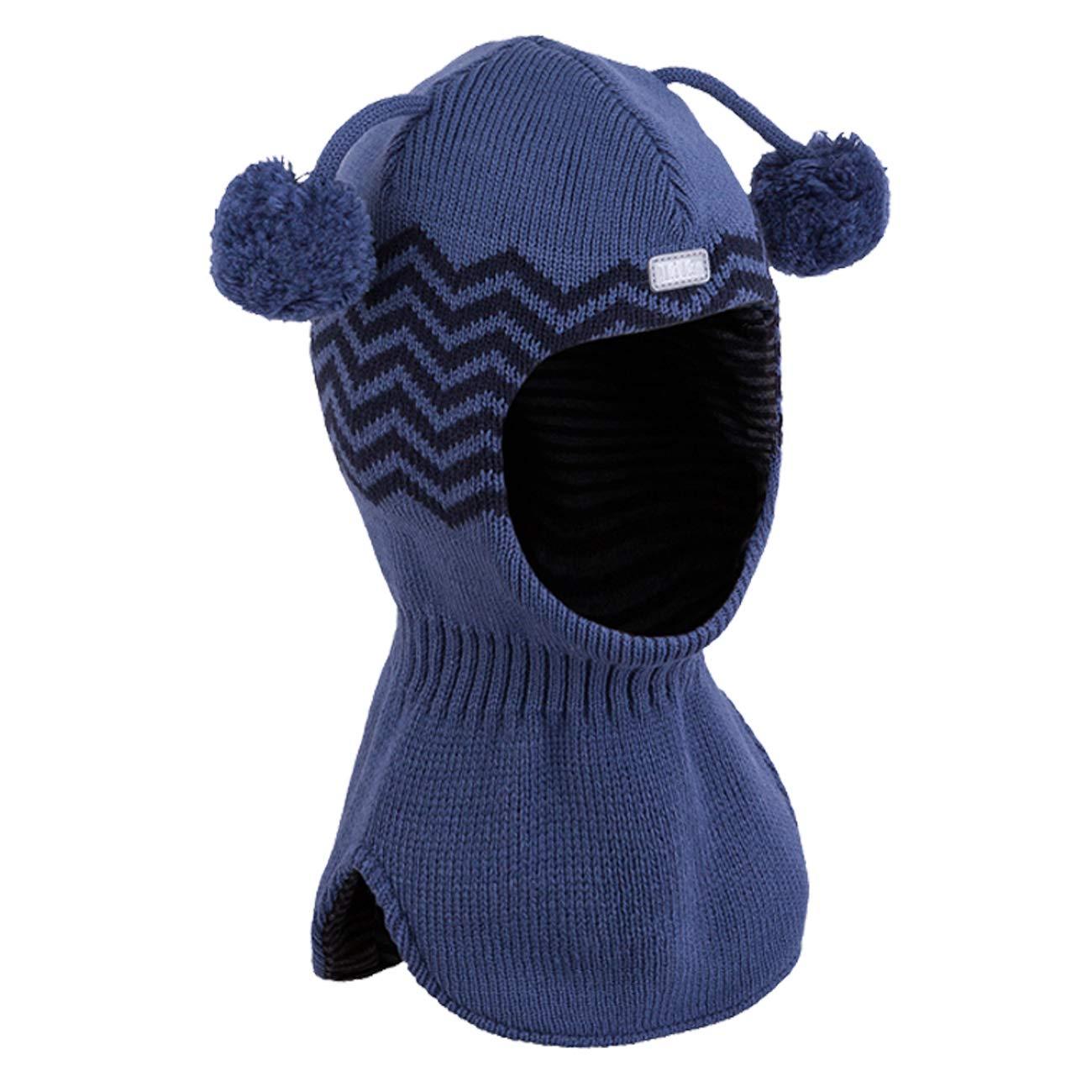 Galeja TuTu Baby-Jungen Mütze Schlupfmütze Kindermütze Wintermütze Baumwollfutter T3-004195