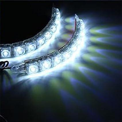 lot de 2/pcs TABEN 6/LED haute puissance LED Feux de Jour Conduite lampe ajustement universel LED Voiture ampoule de brouillard