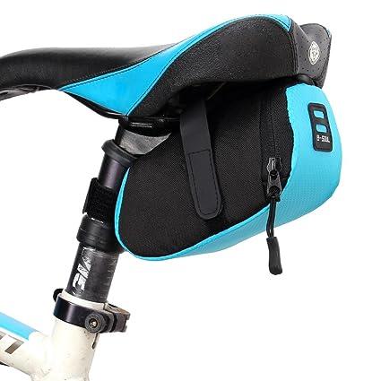 VANKER Bolsa de Bicicleta, Bolsa de sillín,Bolso de la silla de montar del