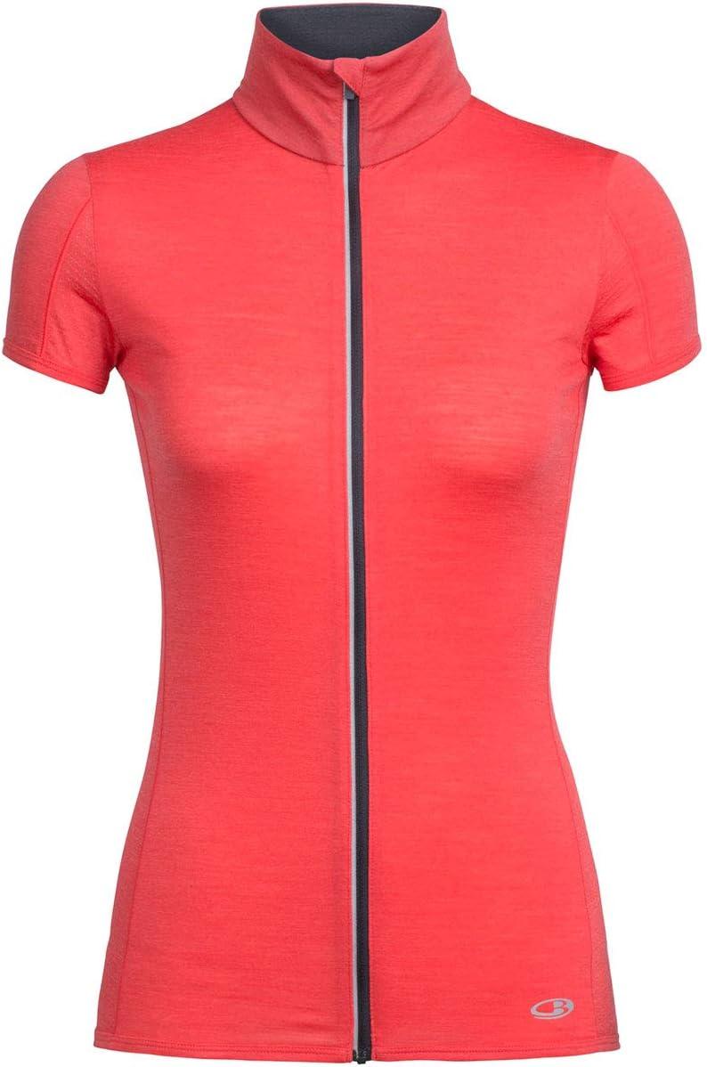 Icebreaker Womens Comet Lite Short Sleeve Zip
