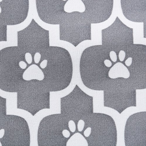 Bone Dry DII Small Rectangle Lattice Kennel & Crate Padded Pet Mat, 17x22 for Dogs or Cats-Gray by Bone Dry (Image #2)