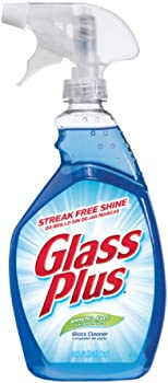 Glass Plus 32 fl oz Multi-Surface Glass Cleaner Bottle