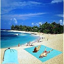 Beach Mat Anti-sand Carpet Picnic Blanket New Magic Sand Beach Outdoor Travel Camping Hiking Essential Supplies 200 x 150cm