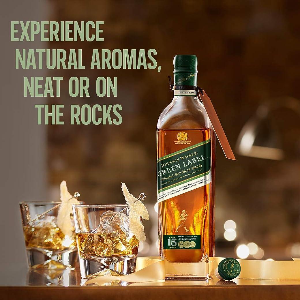 Johnnie Walker Green Whisky Premium Escocés