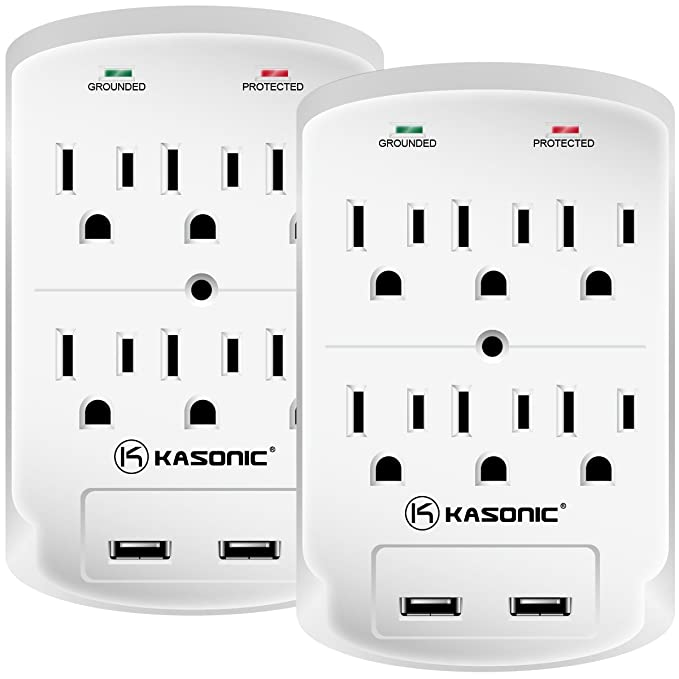Review Wall-Mount Power Outlet, Kasonic