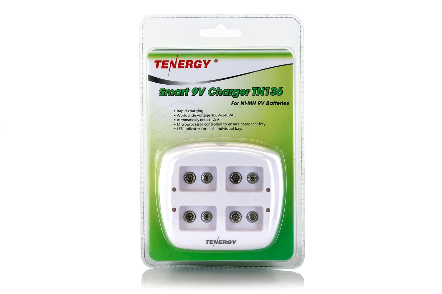 Tenergy Smart 9V 4 Bay Charger TN136 by Tenergy (Image #9)