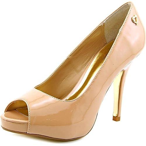 fd41076f18 Thalia Sodi Womens Cereza Peep Toe Classic Pumps