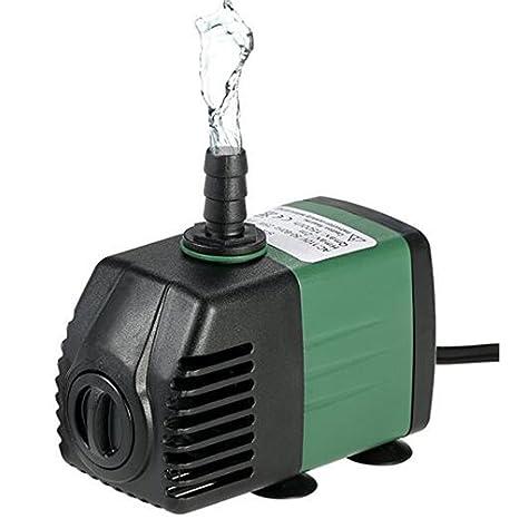 ZBXFF Bomba Sumergible 600L / H 8W para Jardín De Estanque De Fuente De Escritorio De