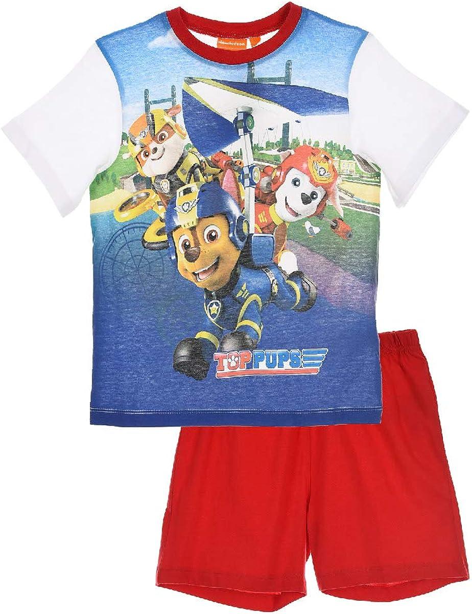 Nickelodeon Paw Patrol Pigiama a maniche corte da ragazzo