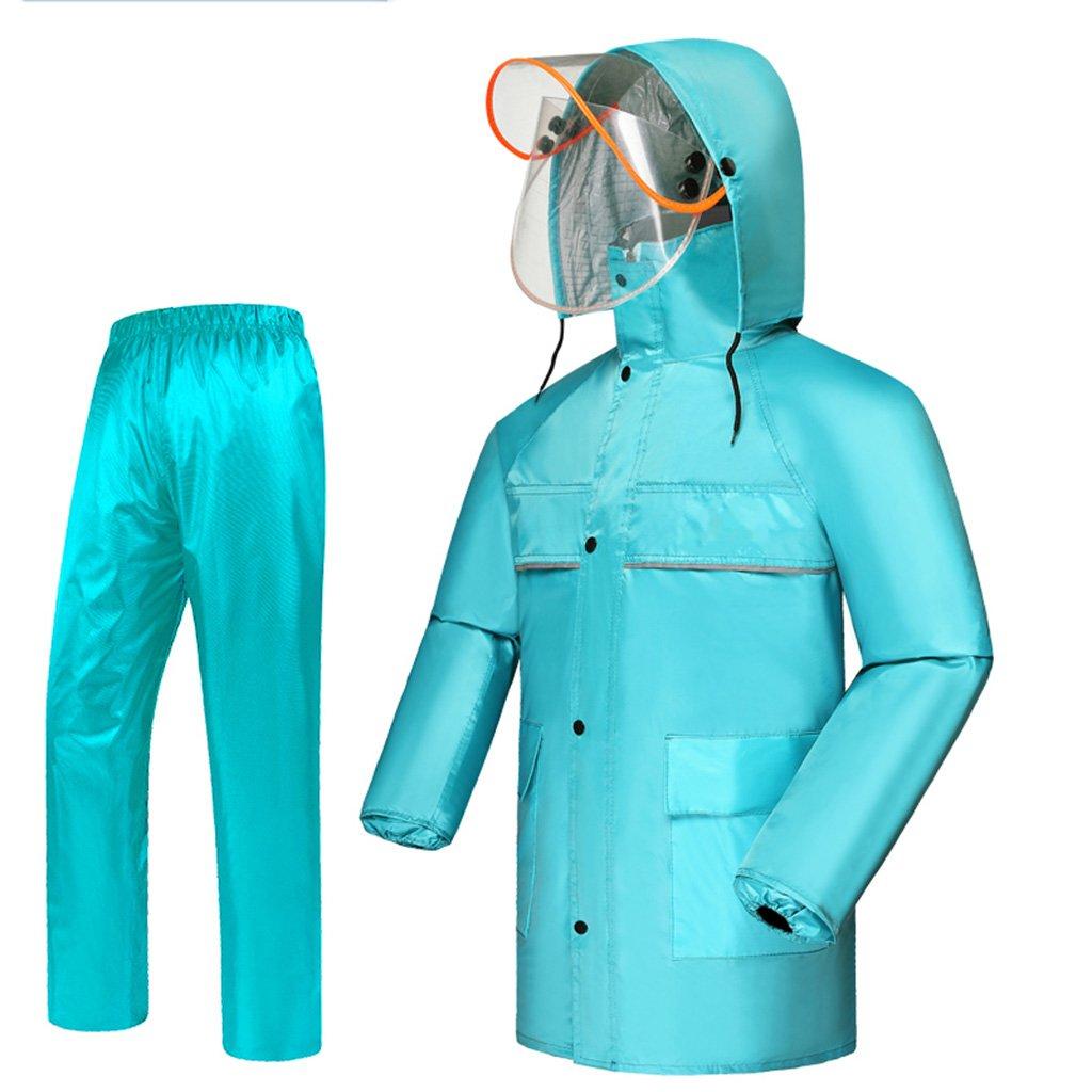 LL レインコート、メンズレディースレインコートファッションレインコート、レインコートファブリック、レインコート、通気性 (色 : D, サイズ さいず : L l)   B07DDHFKQ9