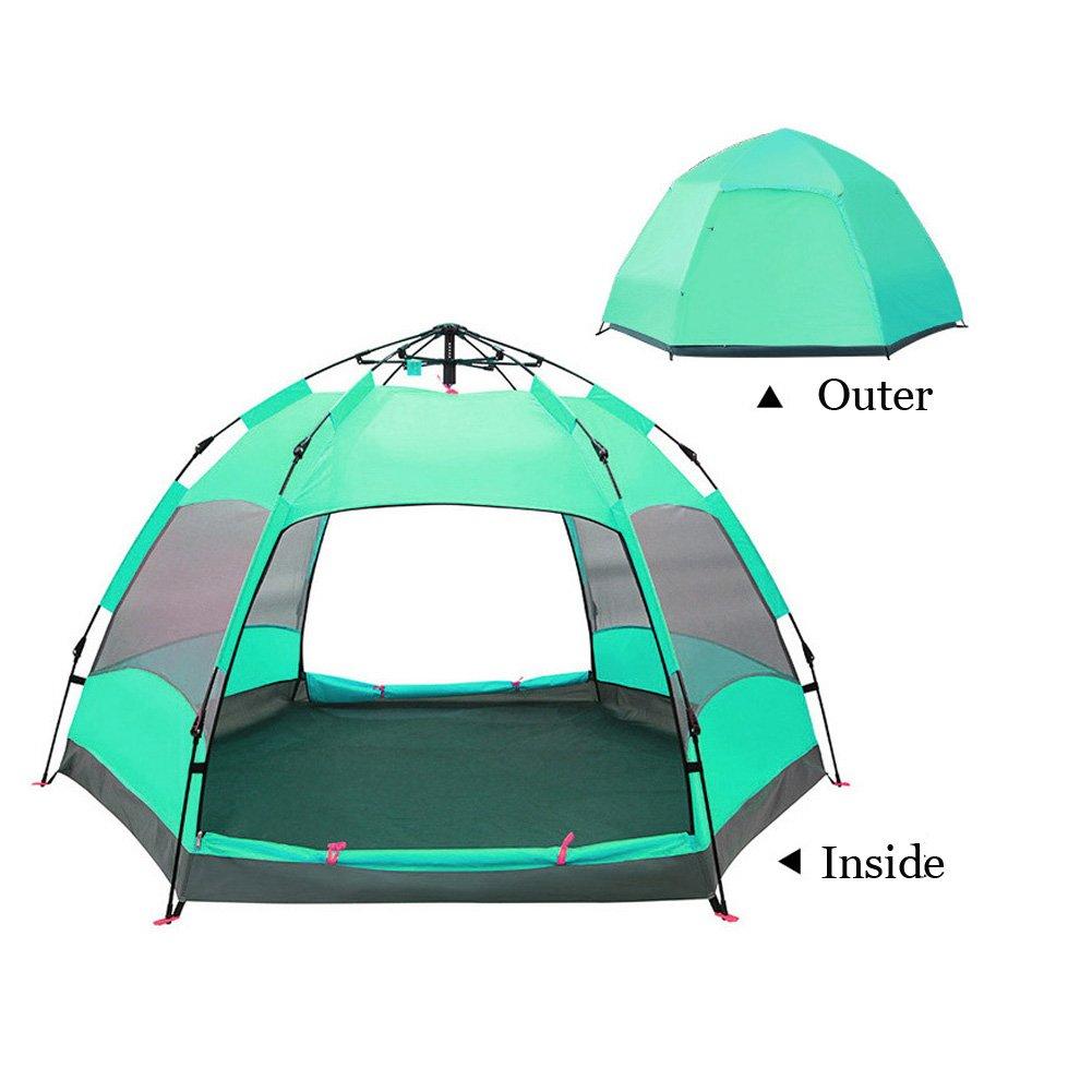 X-loves Outdoor Zelt Automatische Wurfzelt Leicht Campingzelt für 3-8 Personen