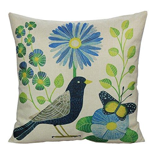Buy birds throw pillow covers BEST VALUE, Top Picks Updated + BONUS