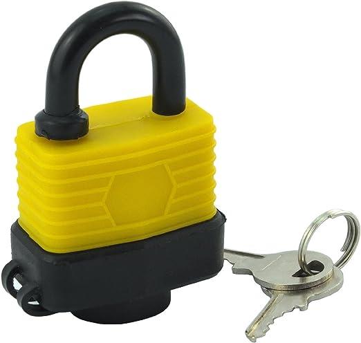 Chaîne de sécurité en acier 600 mm-imperméable extérieur résistant aux intempéries-pour cadenas