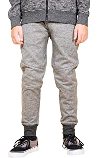 Brooklyn Athletics Boys Fleece Jogger Pants Active Zipper Pocket Sweatpants 570558524bd