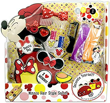Minnie Mouse - Hair Style Salon, pack de maquillaje (Markwins ...