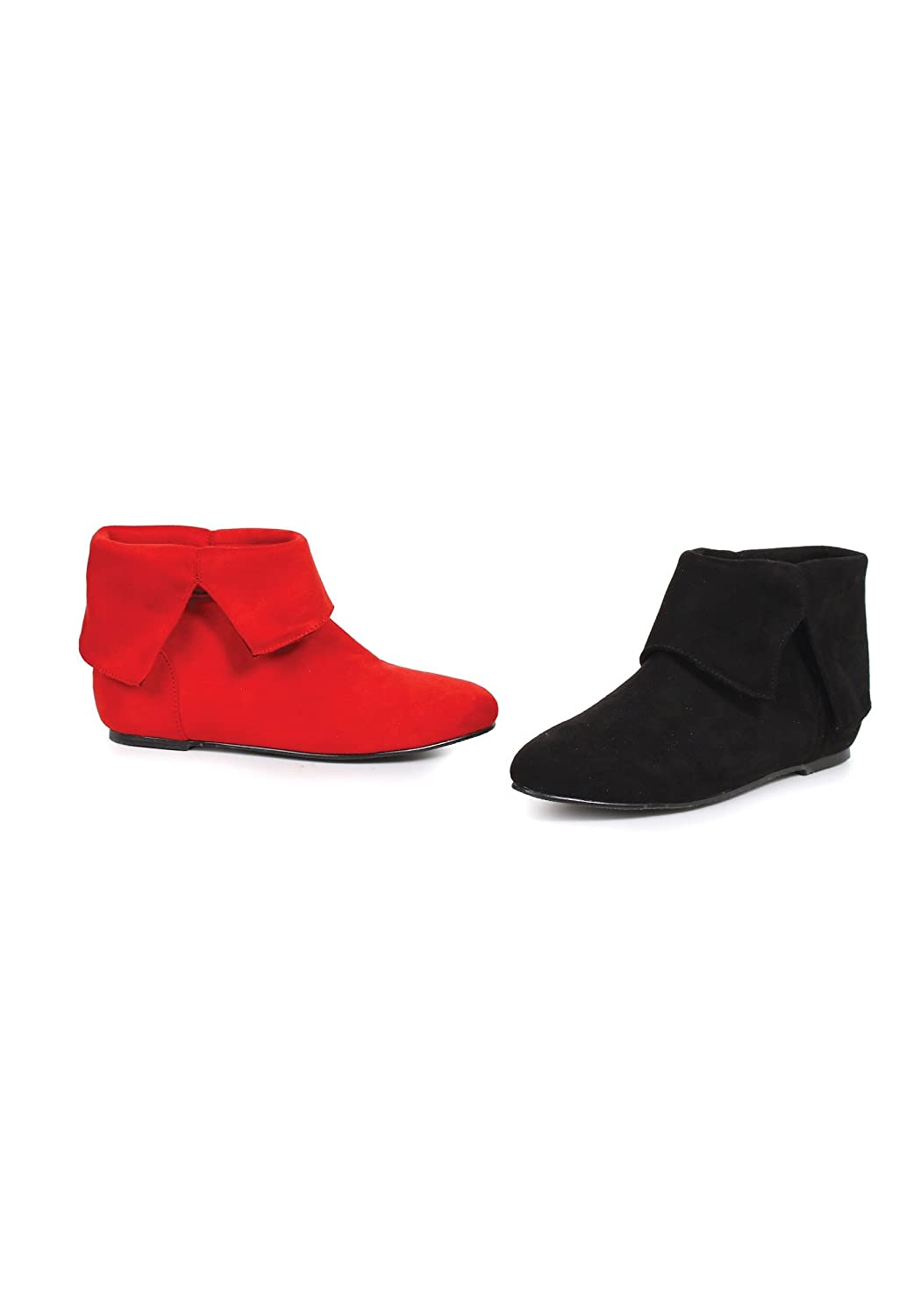 Red and Black Girls Harlequin Boots Large Ellie Shoes