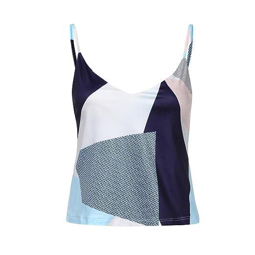 0d26b60e Lookatool 2018 Fashion Tops, Women Printed Vest Sleeveless Summer Tops T- Shirt at Amazon Women's Clothing store: