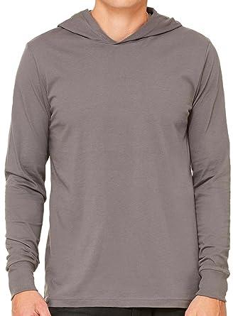Mens Long Sleeve Hoodie Shirt