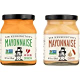 Sir Kensington's Spicy Mayonnaise Combo Pack - Sriracha & Chipotle 10oz, Pack of 2