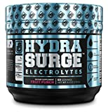 #5: HYDRASURGE Electrolyte Powder - Hydration Supplement with Key Minerals, Himalayan Sea Salt, Coconut Water, More - 60 Servings (Keto Friendly) - Refreshing Fruit Punch Flavor