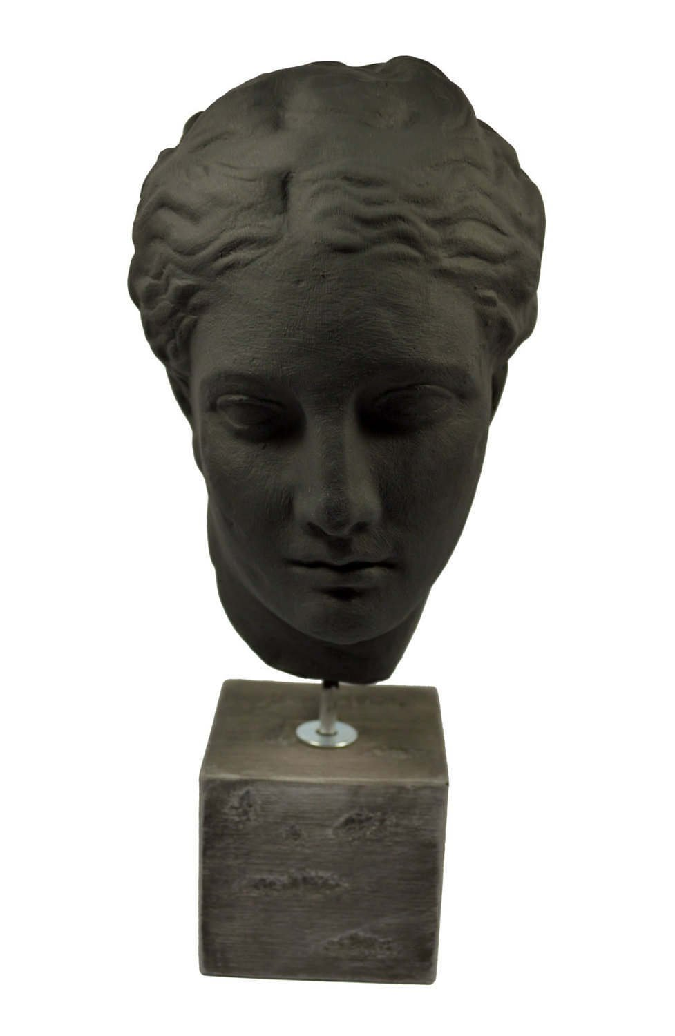 Hygeia sculpture Ancient Greek Goddess of health museum reproduction head bust by Estia Creations