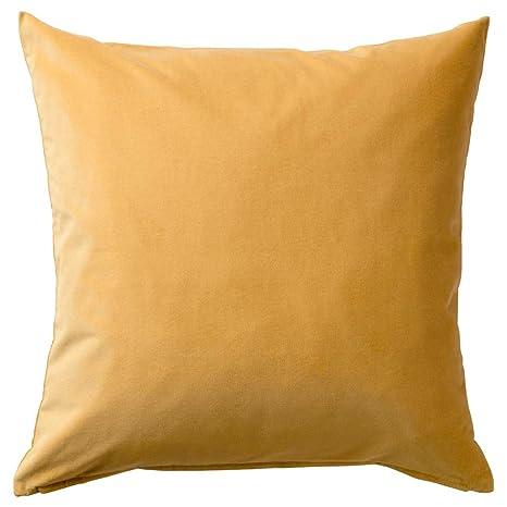 IKEA ASIA SANELA - Funda de cojín, Color Dorado: Amazon.es ...