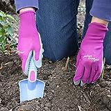 Midwest Gloves & Gear 66H8PUR-M-AZ-6 EZ Grip
